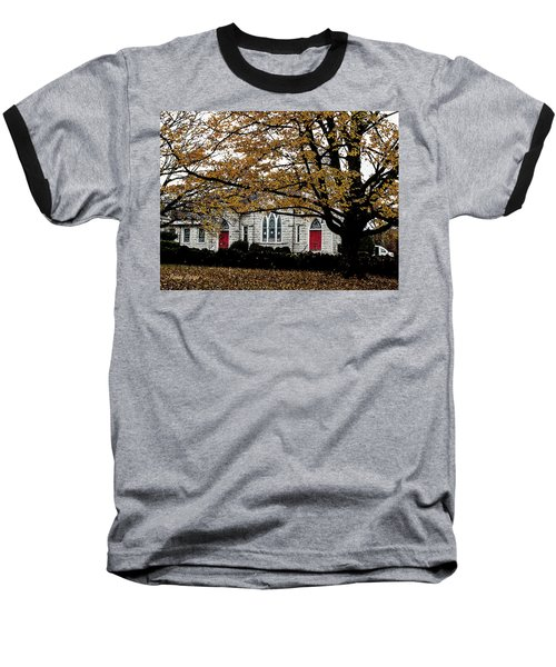 Fall At Church Baseball T-Shirt