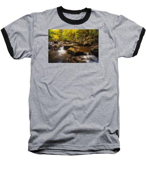Baseball T-Shirt featuring the photograph Fall At Gunstock Brook by Robert Clifford
