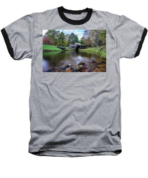 Fall At Mabry Mill Baseball T-Shirt