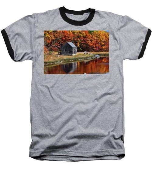 Fall At Rye Baseball T-Shirt