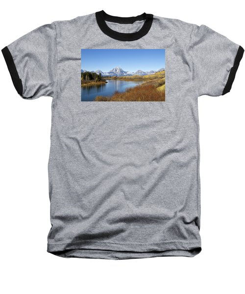 Fall At Teton -2 Baseball T-Shirt by Shirley Mitchell