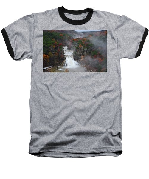 Fall At Turner Falls Baseball T-Shirt