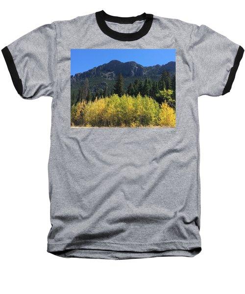 Fall At Twin Sisters Baseball T-Shirt