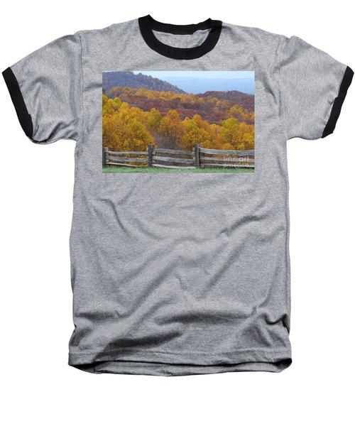Baseball T-Shirt featuring the photograph Fall Blend by Eric Liller