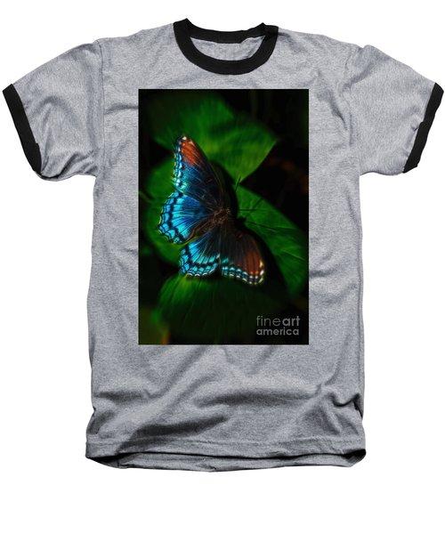 Fall Butterfly Baseball T-Shirt