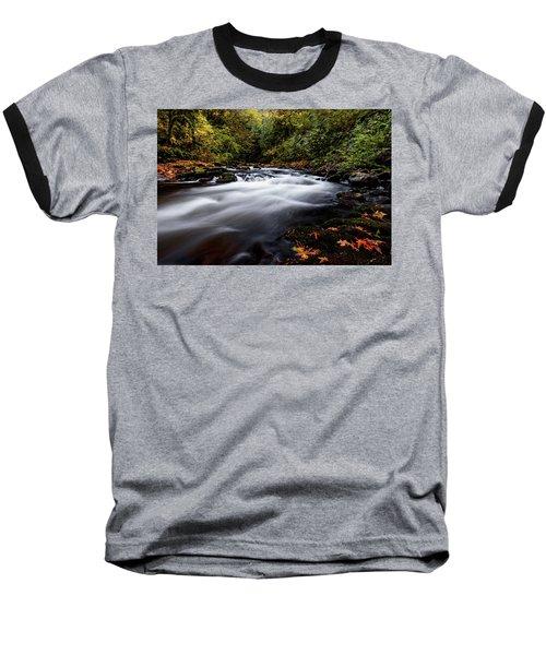 Fall Color At Cedar Creek Baseball T-Shirt