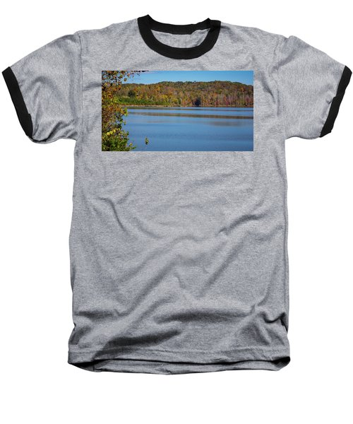 Fall Color At Lake Zwerner Baseball T-Shirt