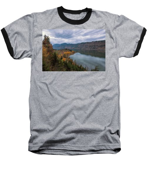 Fall Color At Ruthton Point In Hood River Oregon Baseball T-Shirt