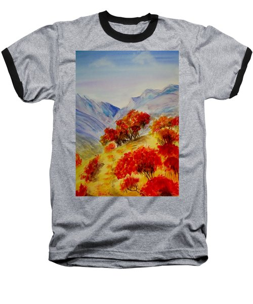 Fall Color Baseball T-Shirt by Jamie Frier