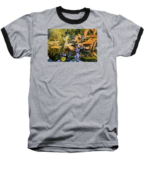 Baseball T-Shirt featuring the photograph Fall Color Soup by Deborah  Crew-Johnson
