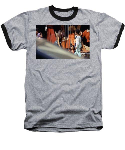 Fall Colors And Bus Riders Baseball T-Shirt