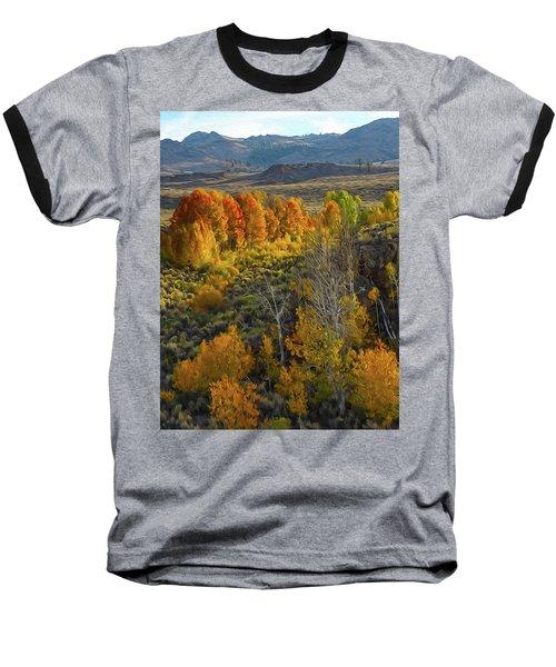 Fall Colors At Aspen Canyon Baseball T-Shirt