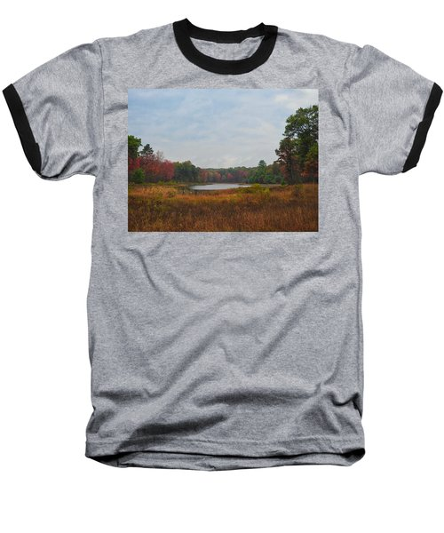 Fall Colors At Gladwin 4459 Baseball T-Shirt