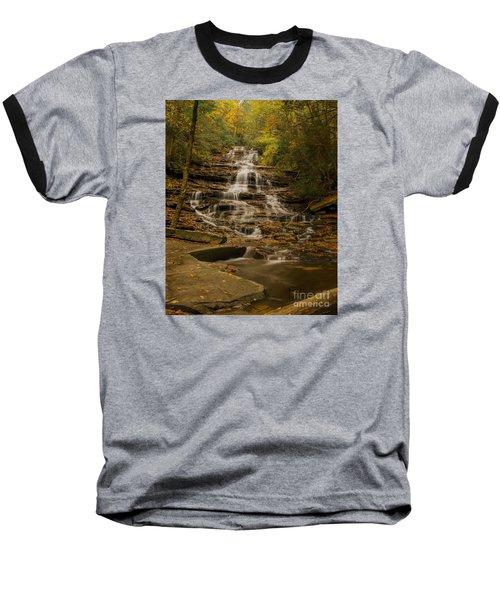 Fall Colors At Minnehaha Falls Baseball T-Shirt by Barbara Bowen