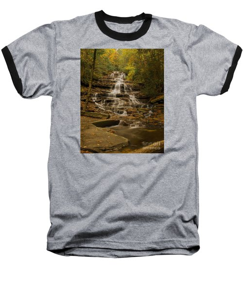 Fall Colors At Minnehaha Falls Baseball T-Shirt