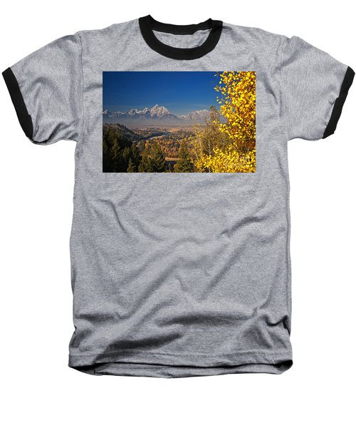 Fall Colors At The Snake River Overlook Baseball T-Shirt