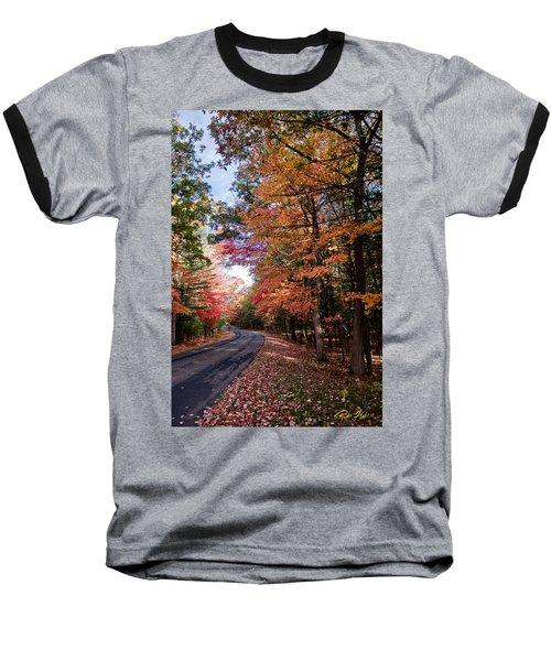 Fall Colors Backroad Baseball T-Shirt