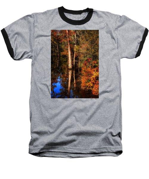 Fall Colors  Baseball T-Shirt by Ester Rogers