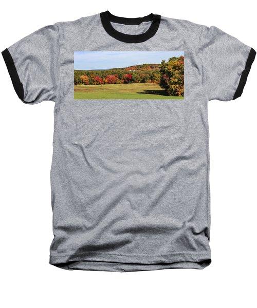 Fall Colors In Easthampton Baseball T-Shirt