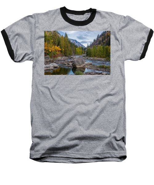 Fall Colors In The Canyon Baseball T-Shirt