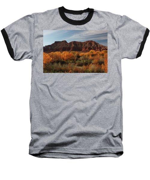 Fall Colors Near Zion Baseball T-Shirt