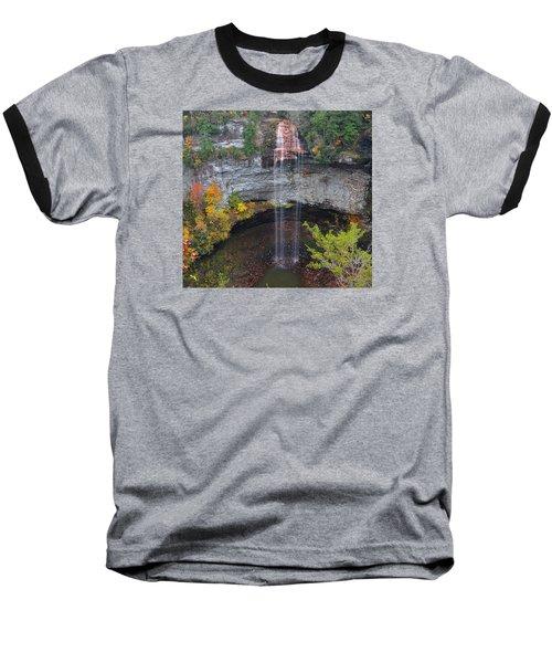 Fall Creek Falls 265 Feet Baseball T-Shirt