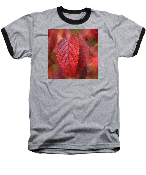 Fall Crimson Baseball T-Shirt