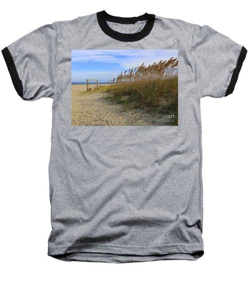 Fall Day On Tybee Island Baseball T-Shirt