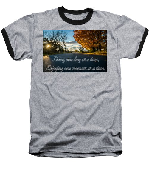 Fall Day With Saying Baseball T-Shirt