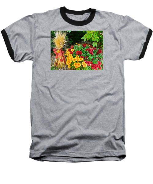 Fall Fantasy Baseball T-Shirt by Randy Rosenberger