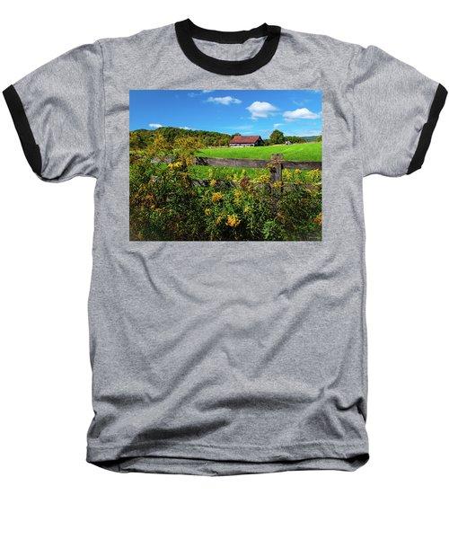 Fall Farm Baseball T-Shirt