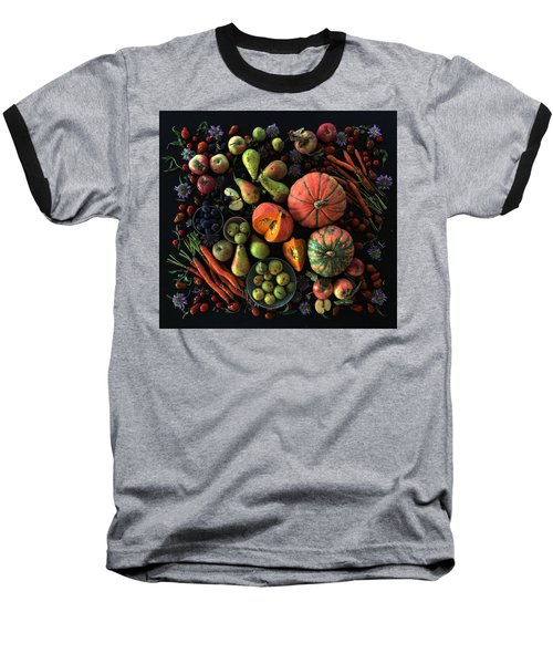 Fall Farmers' Market Baseball T-Shirt