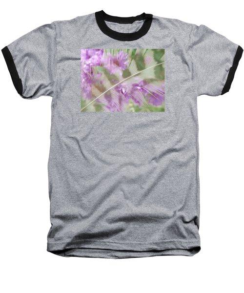 Fall Feather Baseball T-Shirt by Tim Good