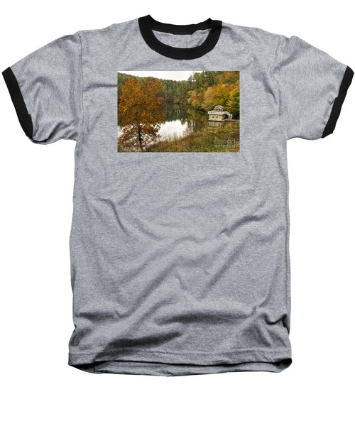 Fall Fishing Baseball T-Shirt
