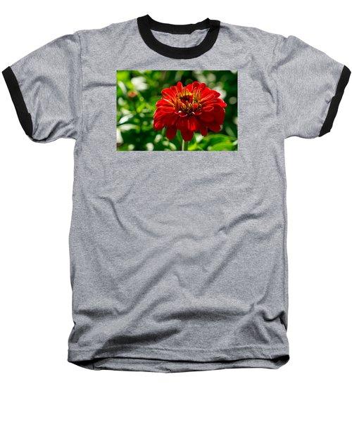Fall Flower Baseball T-Shirt