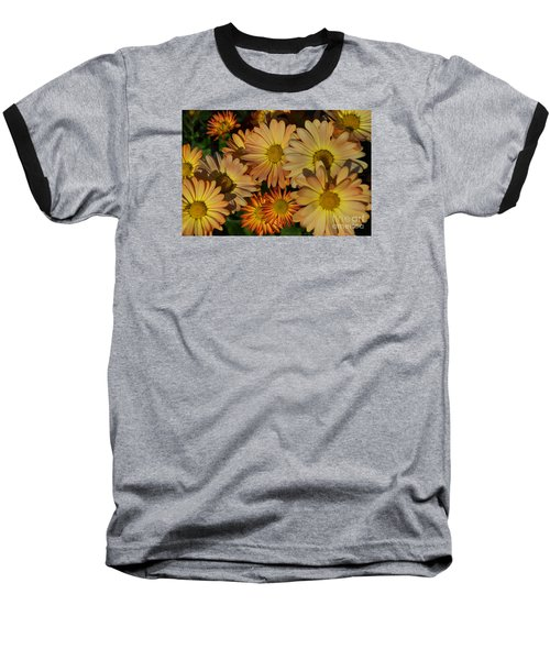 Fall Flowers In Madison  Baseball T-Shirt