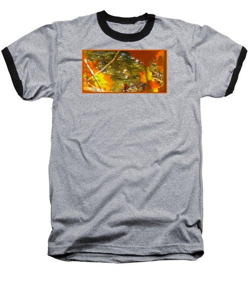 Fall Flyer Baseball T-Shirt by David Norman