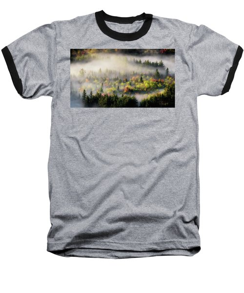Fall Fog Baseball T-Shirt