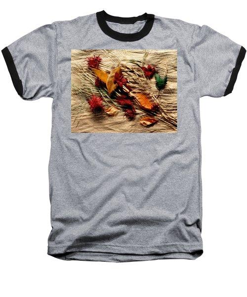 Fall Foliage Still Life Baseball T-Shirt