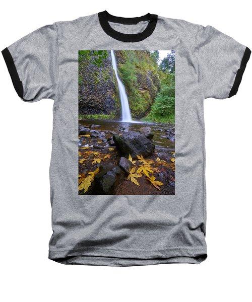 Baseball T-Shirt featuring the photograph Fall Gorge by Jonathan Davison
