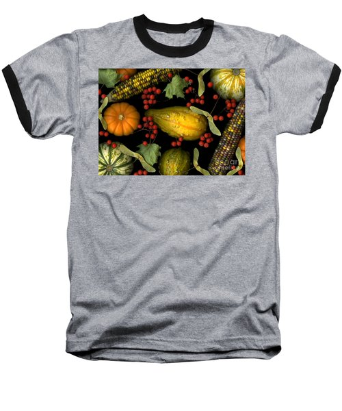 Fall Harvest Baseball T-Shirt