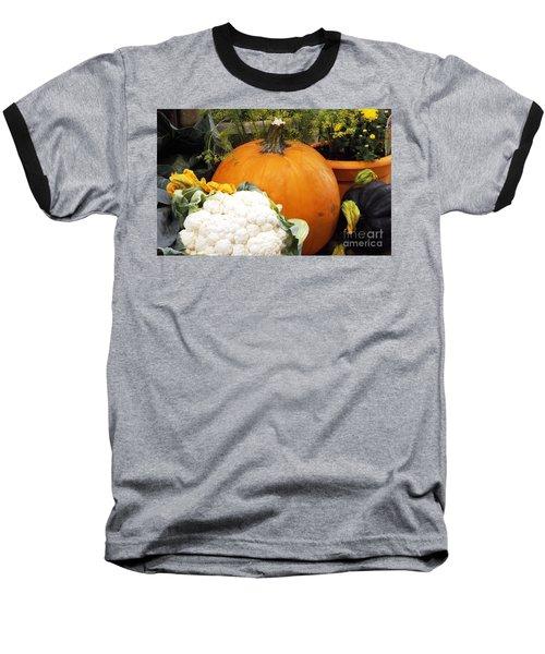 Baseball T-Shirt featuring the photograph Fall Harvest by Judyann Matthews