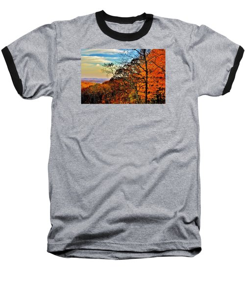 Fall Horizon Baseball T-Shirt
