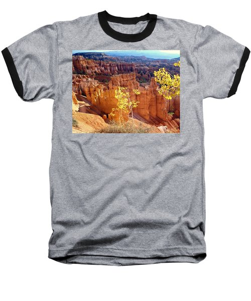 Fall In Bryce Canyon Baseball T-Shirt