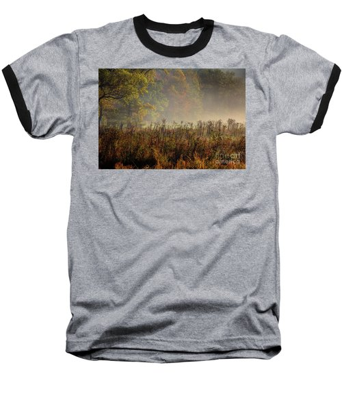 Baseball T-Shirt featuring the photograph Fall In Cades Cove by Douglas Stucky