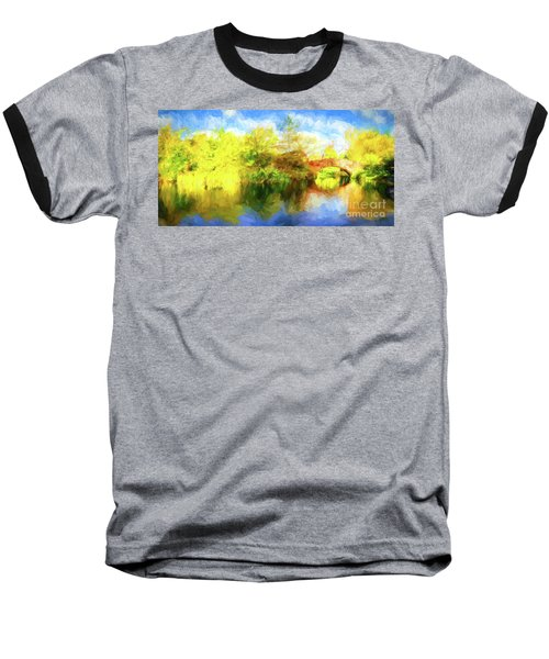 Baseball T-Shirt featuring the photograph Fall In Central Park by Jim  Hatch