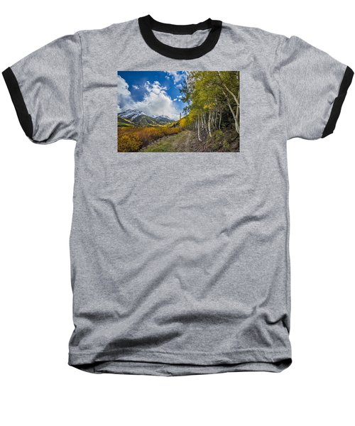 Fall In Colorado Baseball T-Shirt