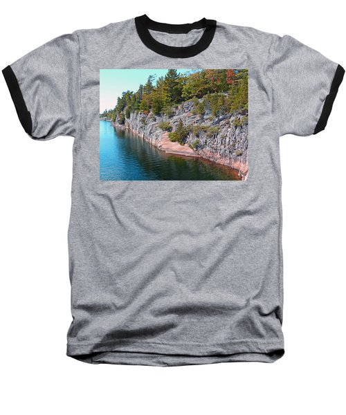 Fall In Muskoka Baseball T-Shirt