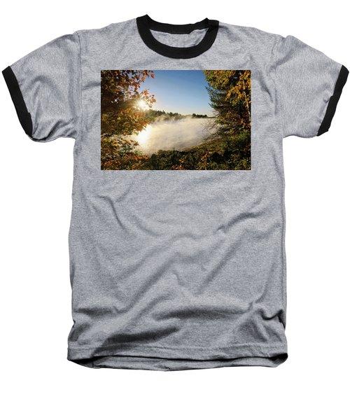 Fall In New England Baseball T-Shirt