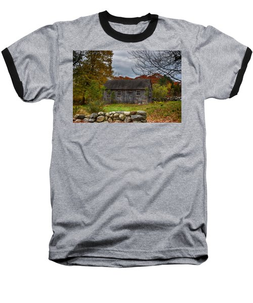 Fall In New England Baseball T-Shirt by Tricia Marchlik